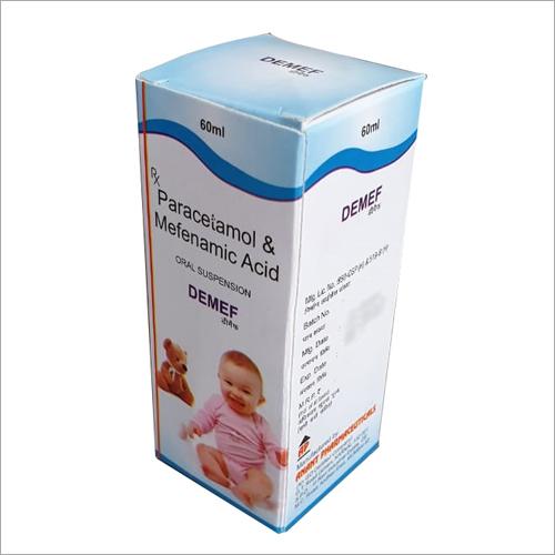 60 ml Paracetamol And Mefenamic Acid