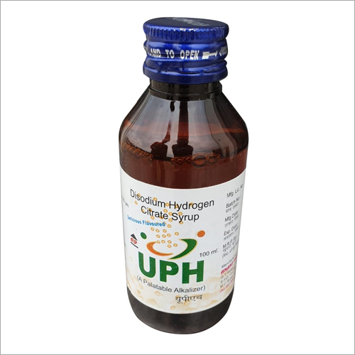 100 ml Disodium Hydrogen Citrate Syrup