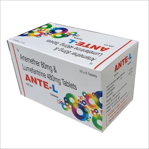 Artemether 80 mg And Lumefantrine 480 mg Tablet