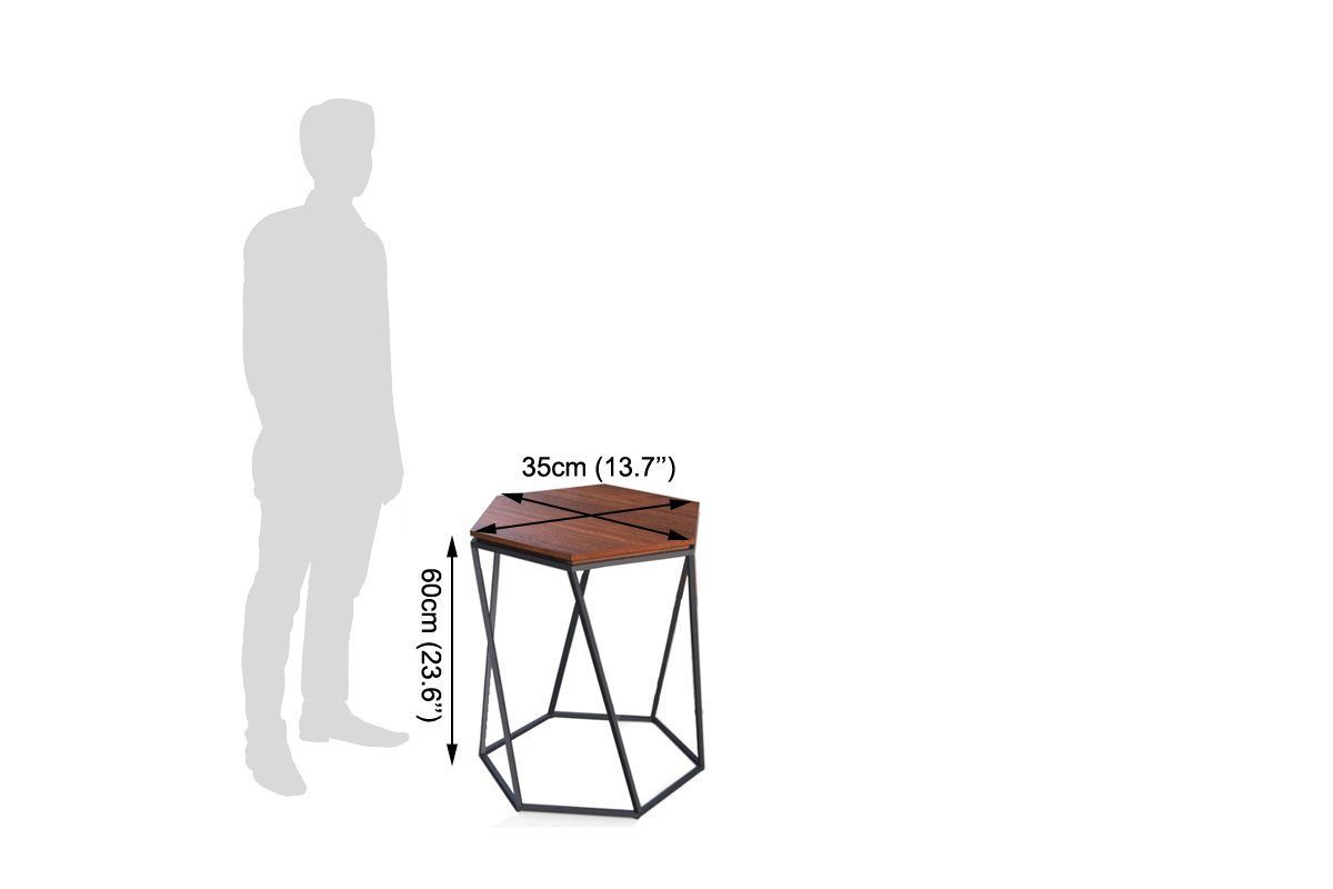 Centre Table with Stool in Iron mix