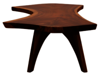 wooden Center Coffee table live wave