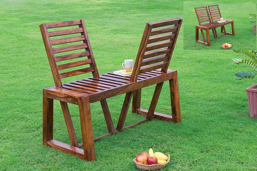 Garden external chair two way