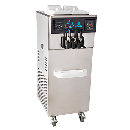 SS Pump Feed Soft Ice Cream Machine