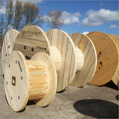Hard Wood Cable Drum