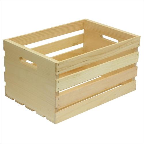 Unfinished Wood Crates