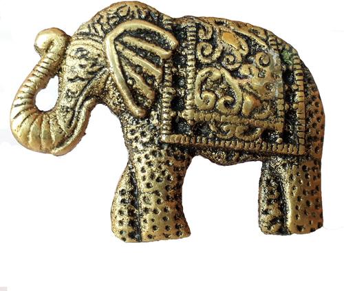 Metal Brass Elephant Door Knob