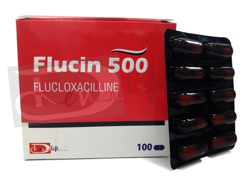 FLUCLOXACLLIN CAPSULES BP 500mg