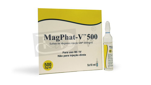 Magnesium Sulfate Injection USP 500mg