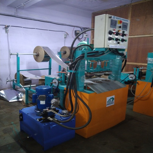 Hydraulic Paper Dona Machine