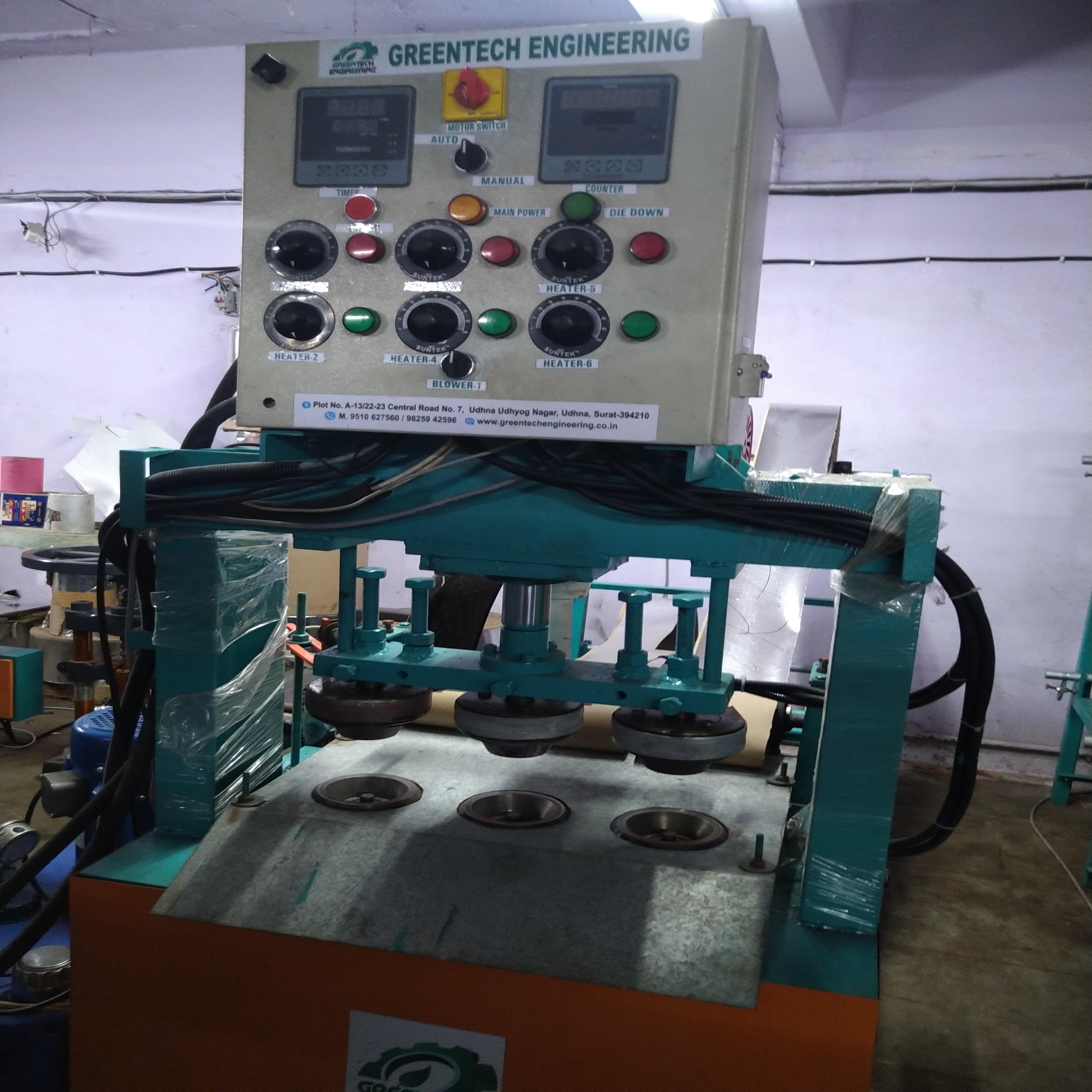 Hydraulic Paper Dona Machine