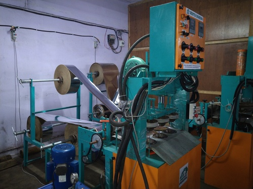 Fully Automatic Hydraulic Three Die Dona Making Machine