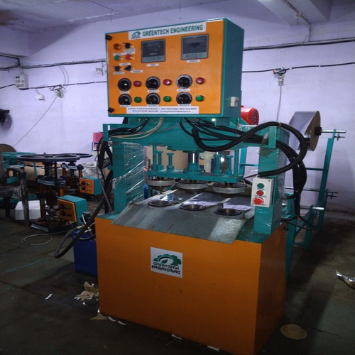 Hydraulic Three Die Paper Bowl Making Machine