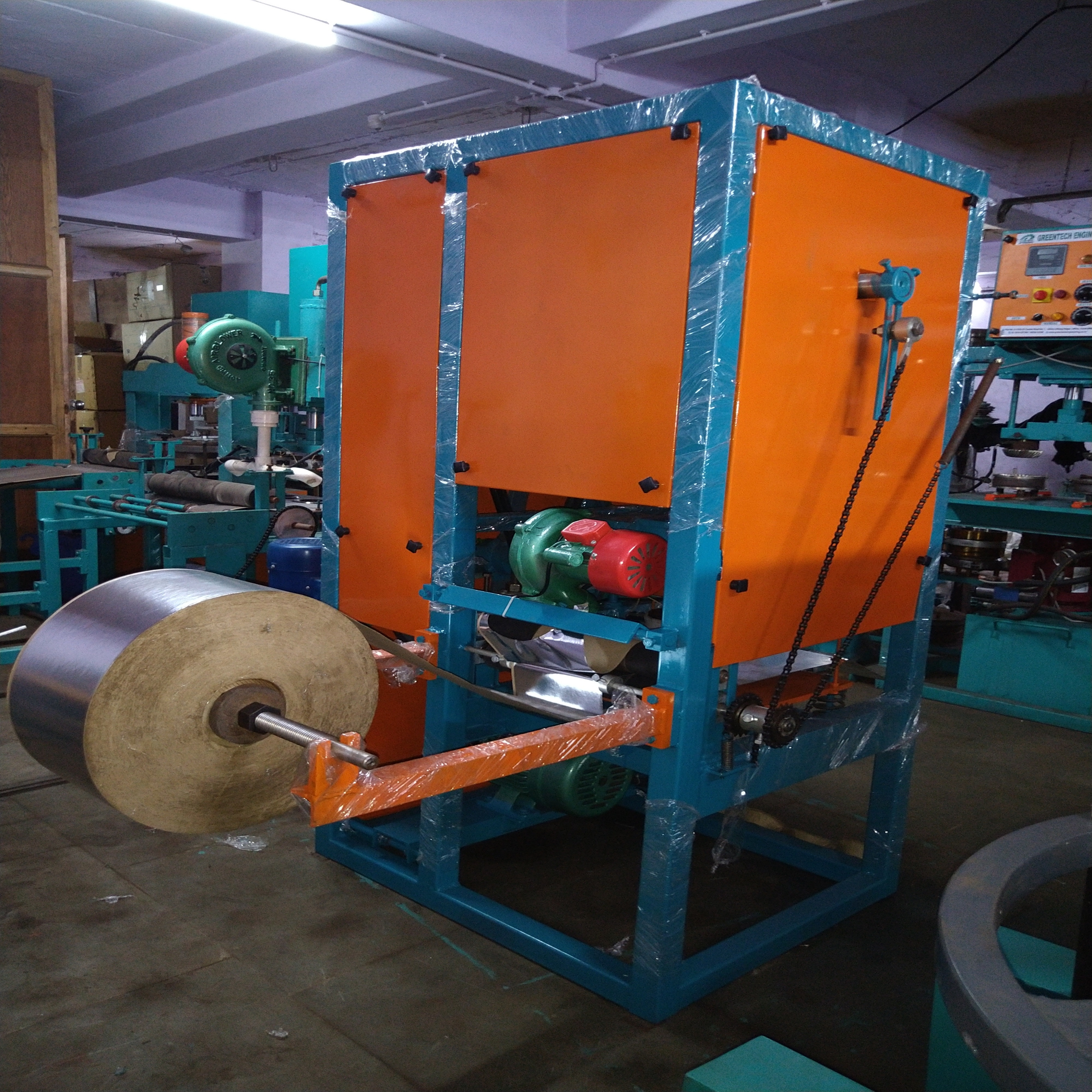 Fully Automatic Single Die Dron Making Machine