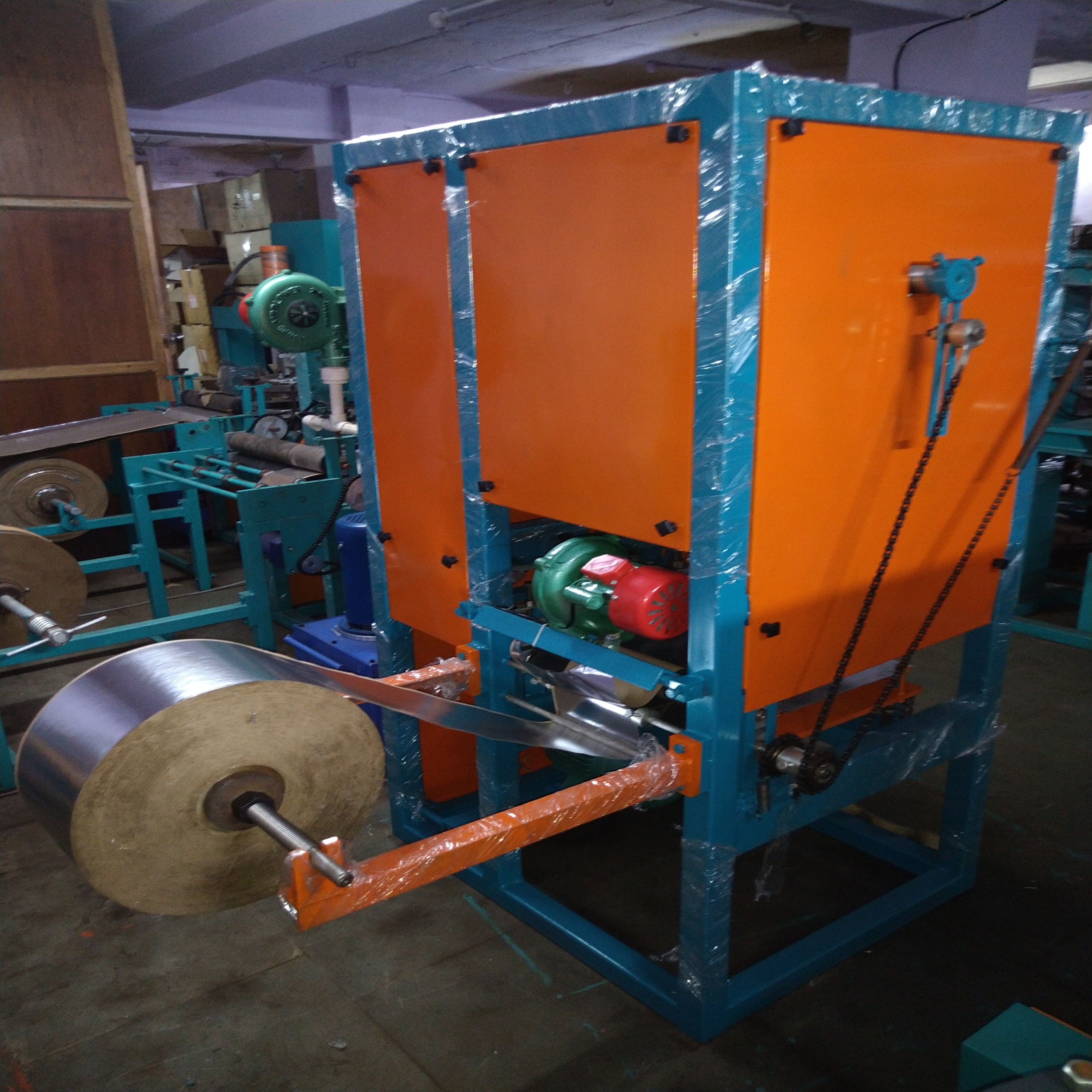 Fully Automatic Paper Bowl Making Machine