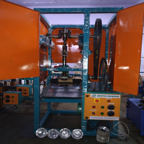 Single Die Paper Bowl Making Machine