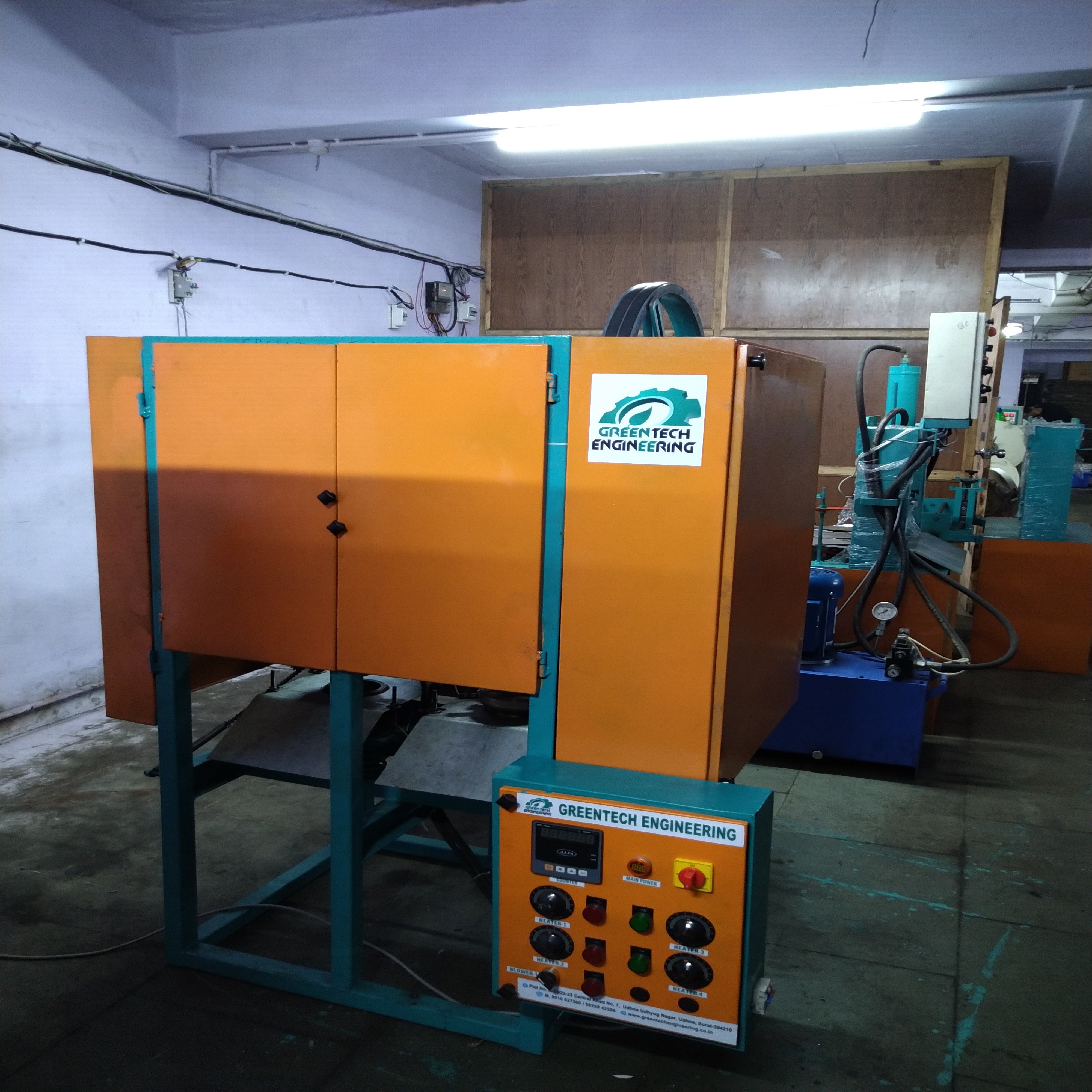Fully Automatic Double Die Dron Making Machine