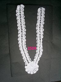 Hand crochet neck collars