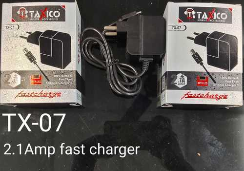 Tx-07 Usb Charger (2.1amp Fast Charger)