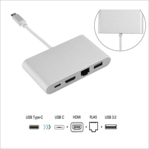 Type C To Multi Port Hub
