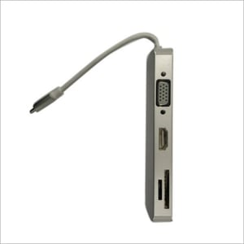 Type C VGA HDMI LAN Adapter