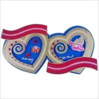 Thermocol wedding heart