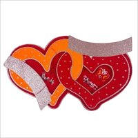 Thermocol valentine heart