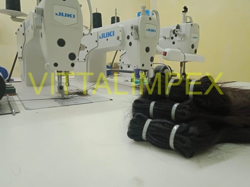 Human Double Weft Hairs