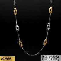 Oval Shaped Gold Chain
