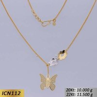 Butterfly Shaped Gold Chain