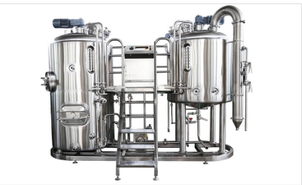 5BBL Nano Brewery Brewhouse