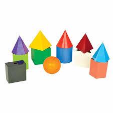 3D Solids Set 10 cm