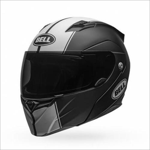 Bell Revolver Evo Matt Black White Modular Full Face Helmet