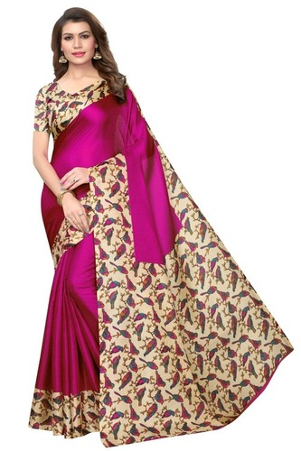 New Designer Kalamkari Silk Saree