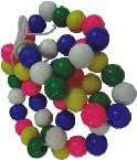 Jumbo Beads set of 100 pcs.
