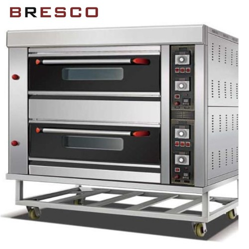Gas 2 Deck 4 Tray Baking Oven
