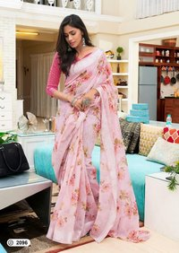 Fancy Soft Lilen Sarees