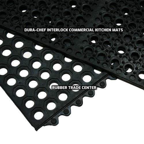 dura chef interlock commercial kitchen mat