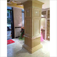 Customized Marble Pillar Desiging Service