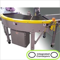 Power Turn Belt Conveyor