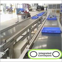 Aluminum Profile PVC Belt Conveyor