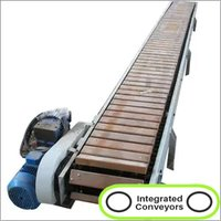 Industrial Metal Slat Conveyor