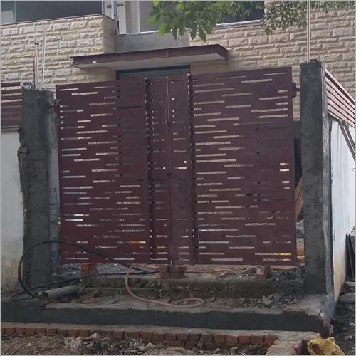 Laser Cut Steel Main Gate