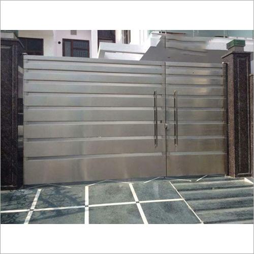 Designer Stainless Steel Main Gate