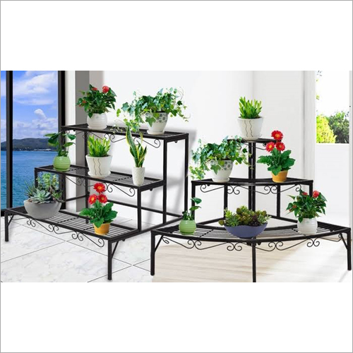 Outdoor 3 Tier Planter Rack