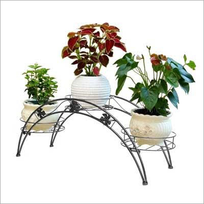 Steel Planter Stand