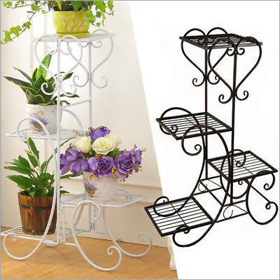 Indoor Decorative Steel Planter Stand