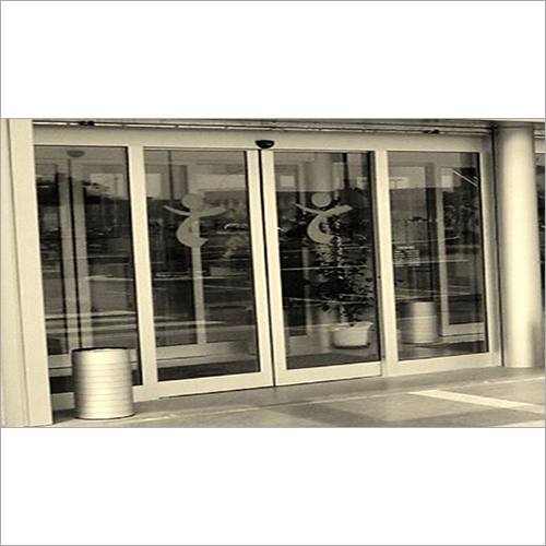 Motor Sensor Auto Sliding Glass Door