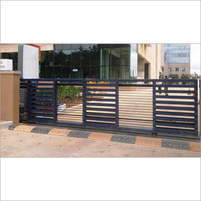Industrial Automatic Sliding Gates Height: Customized Foot (Ft)