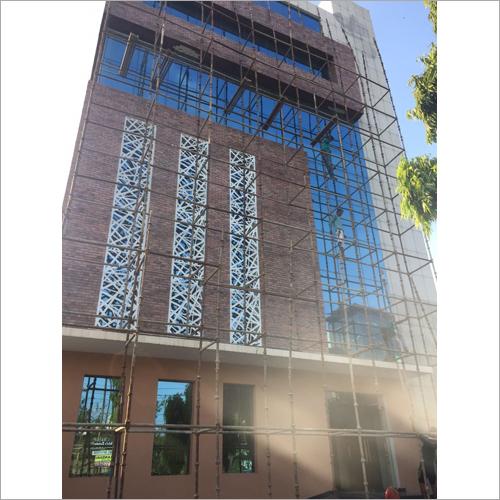 Modern Office Front Elevation Panel
