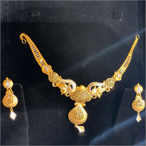 24 Carat Gold Necklace Set